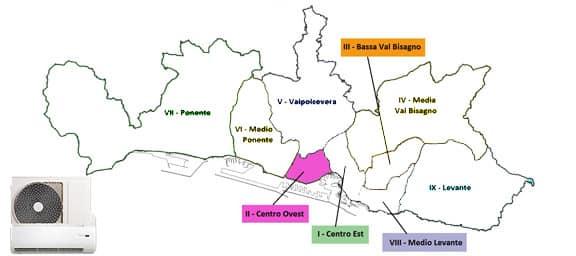 Assistenza Condizionatori Genova Centro-Ovest Municipio 2
