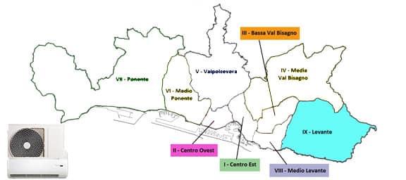 Assistenza condizionatori Genova Levante