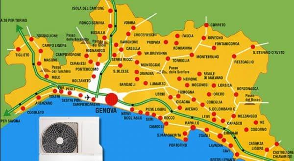 Assistenza condizionatori in provincia di Genova